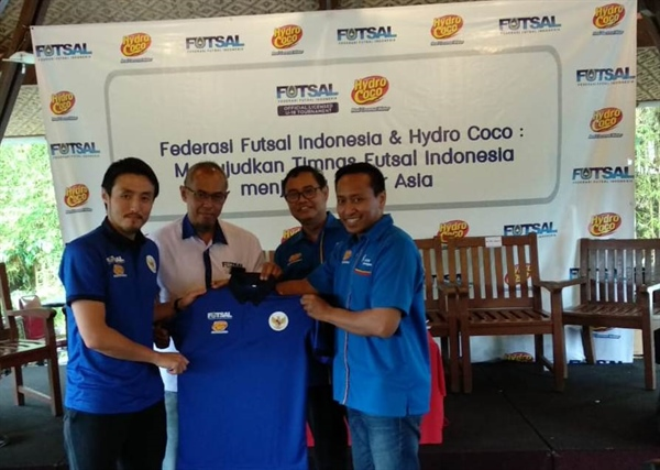 Kalbe and Indonesian Futsal Federation Making the National Team to be Asia's Big Four