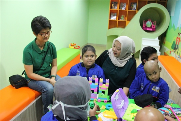 Kalbe Inaugurated Children's Polyclinic in Collaboration with the Indonesian Childhood Cancer Foundation