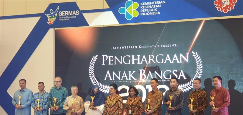 Kalbe Group Receives The Karya Anak Bangsa Award From The Ministry of Health