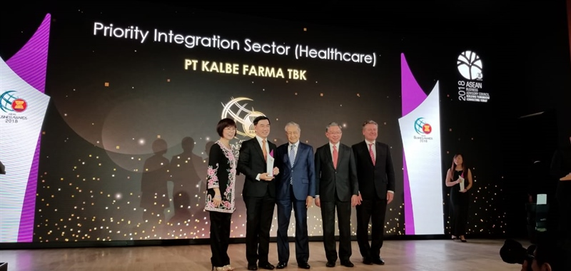 Kalbe Received The ASEAN Business Awards 2018