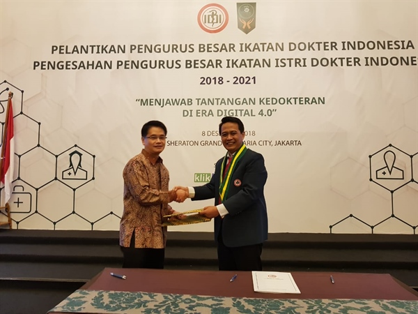 Kalbe and Indonesian Doctors Association To Develop Medical Research In Indonesia