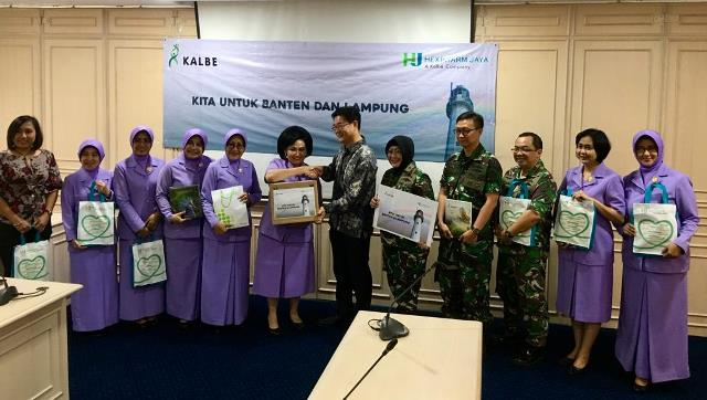 Kalbe Is Providing Help for Banten and Lampung