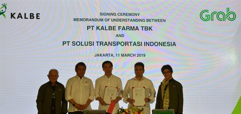 Kalbe and Grab Form a Strategic  Cooperation to Improve Health Services of Indonesian People