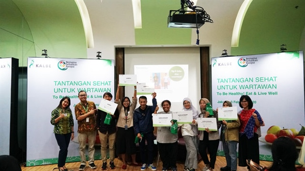 Announcement of Winners of Healthy Challenges for Journalist