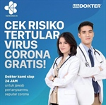 Preventing the Spread of the New Corona Virus,  KlikDokter Launches Free COVID-19 Risk Check Feature