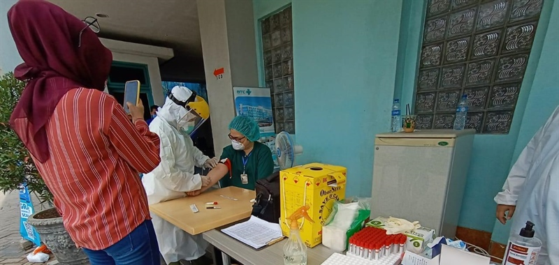 KlikDokter in Partnership with the Indonesian Ministry of Health and BNPB: Conducting Rapid Test for COVID-19