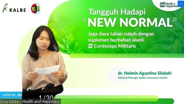 Kalbe Innovates Through Herbal Medicine to Strengthen Body Immunity in the New Normal Era